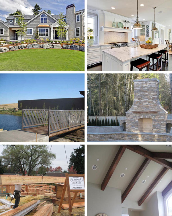 JD Bergevin Homes Collage